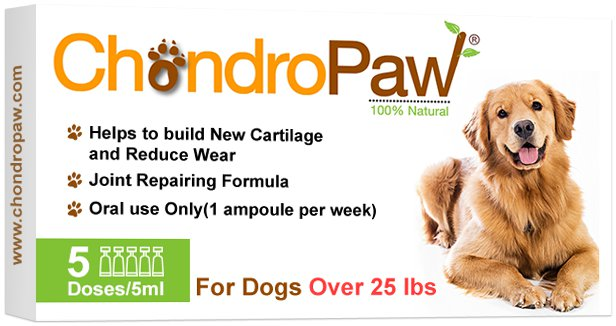 ChondroPaw® For Dogs Over 25lbs