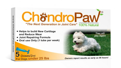Chondropaw For Dogs Under 25lbs