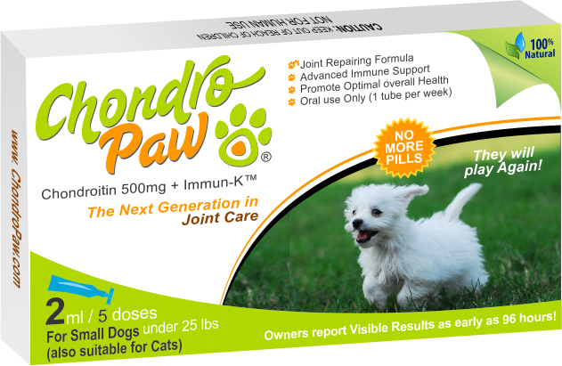 Chondropaw for small dogs