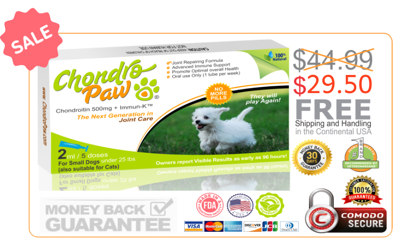 SALE-CHONDROPAW-FOR-DOGS-UNDER-25LBS-5x2ml